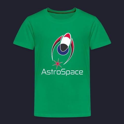 AstroSpace Logo with Title - Kids' Premium T-Shirt