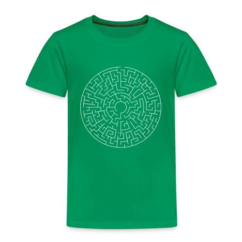 Maze Theta easy - Kinder Premium T-Shirt