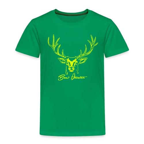 hirsch bow hunter - Kinder Premium T-Shirt