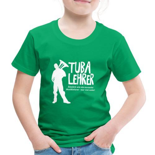Tuba Lehrer | Tubist - Kinder Premium T-Shirt