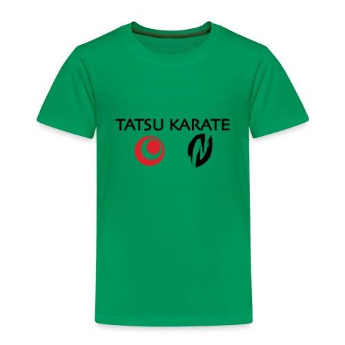 Tatsu Karate med två logo - Premium-T-shirt barn