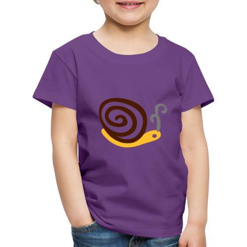 Lumaca - Maglietta Premium per bambini
