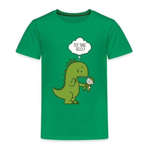Bio-Dinosaurier - Kinder Premium T-Shirt