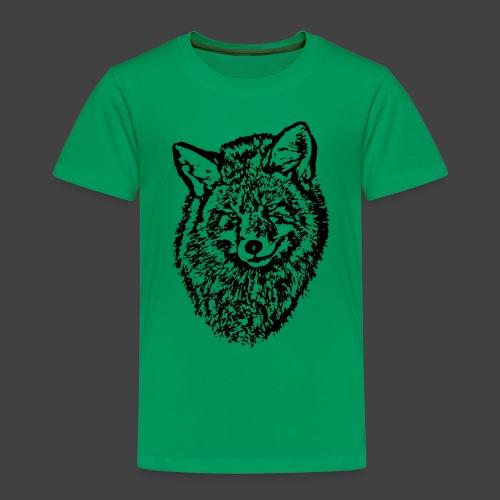 FOX1 - BLACK - Kids' Premium T-Shirt