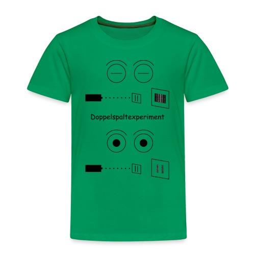 Doppelspalt-Experiment - Kinder Premium T-Shirt