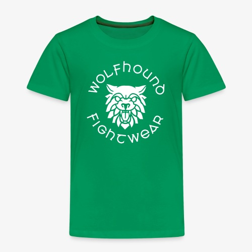 logo round w - Kids' Premium T-Shirt
