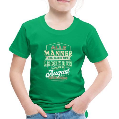 Mann Männer Legende Geburtstag Geschenk August - Kinder Premium T-Shirt
