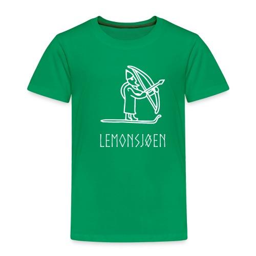 Lemonsjøen Ullr på Ski - Premium T-skjorte for barn