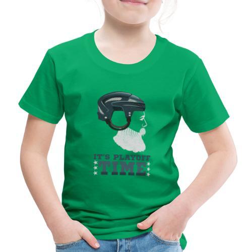 Lustiges Cooles Eishockey Geschenk Eishockeyspiele - Kinder Premium T-Shirt