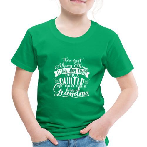 Quilter Grandma - Kids' Premium T-Shirt
