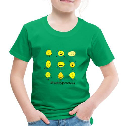 9 smilies - Kinder Premium T-Shirt