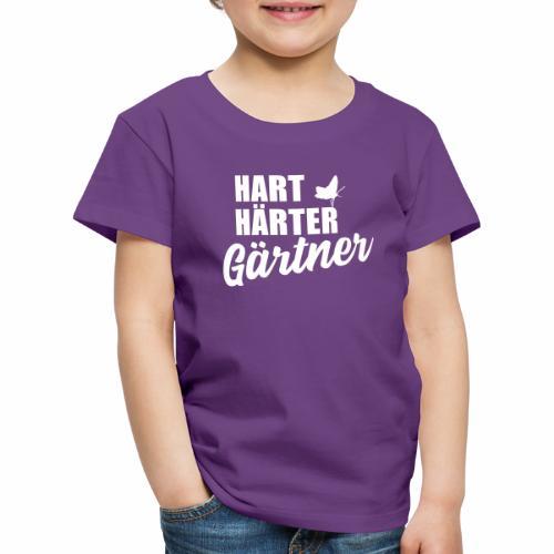Hart, Härter, Gärtner - Kinder Premium T-Shirt