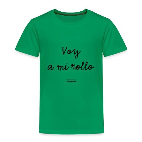 Voy a mi rollo - Camiseta premium niño