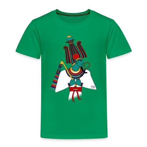 Osiris I altägyptische Gottheit - Kinder Premium T-Shirt
