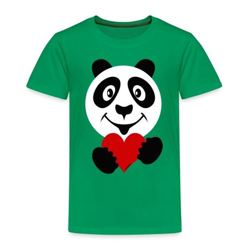 PANDA HEART Tekstiles and Gift products FP10-51A - Lasten premium t-paita
