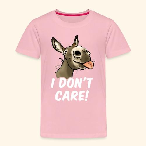 Ane I don't care! (texte blanc) - T-shirt Premium Enfant