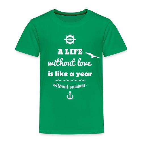 summer - Kinder Premium T-Shirt