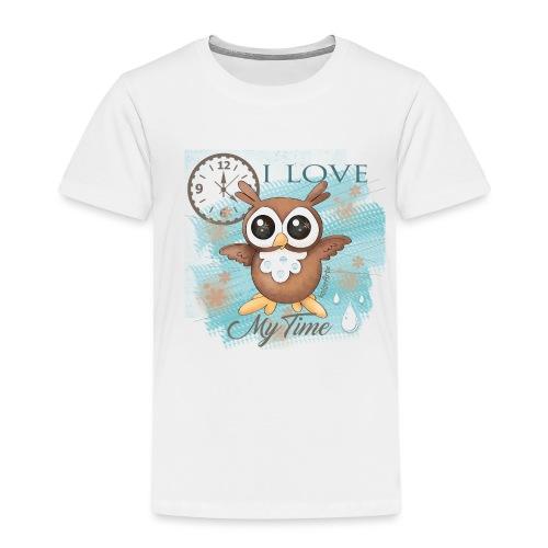 GUFO-E-TEMPO - Maglietta Premium per bambini
