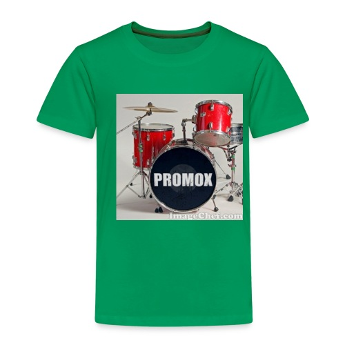batería rock (banda) - Camiseta premium niño
