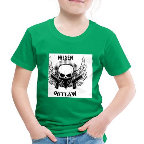 Nilsen Outlaw Head - Kids' Premium T-Shirt