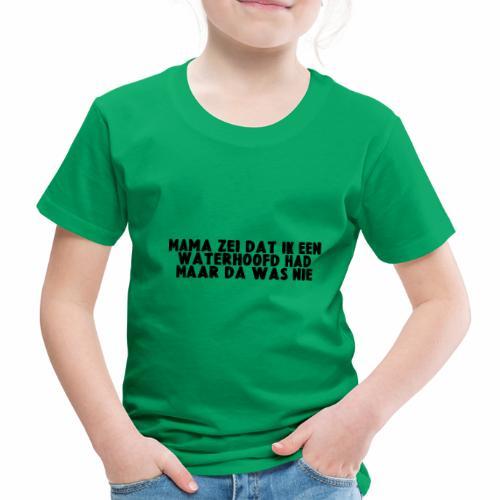 WATERHOOFD - Kinderen Premium T-shirt