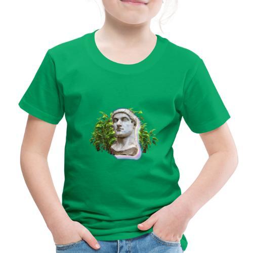 Vaporwave Statue - Camiseta premium niño