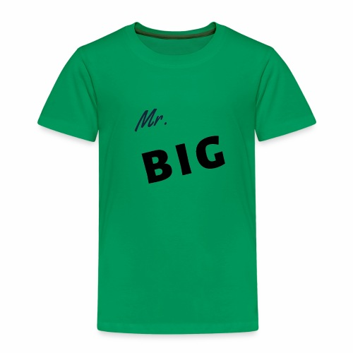 Mr Big spruch modern DS - Kinder Premium T-Shirt