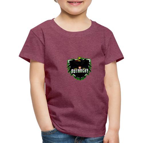 AUTarchy green - Kinder Premium T-Shirt