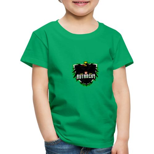 AUTarchy green - Kinder Premium T-Shirt