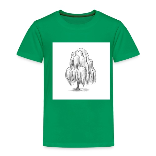 Willow Sketch - Kids' Premium T-Shirt