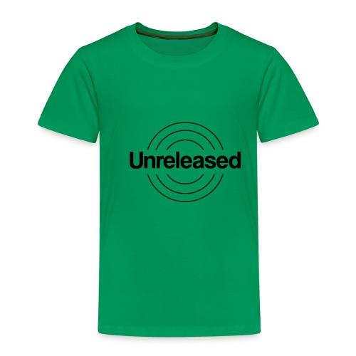 unreleased black - T-shirt Premium Enfant