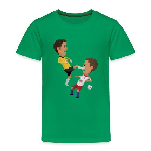 Kungfu goalkeeper from Bremen - Kids' Premium T-Shirt