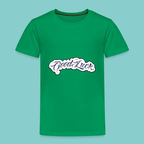 Good Luck 8 - Kinder Premium T-Shirt