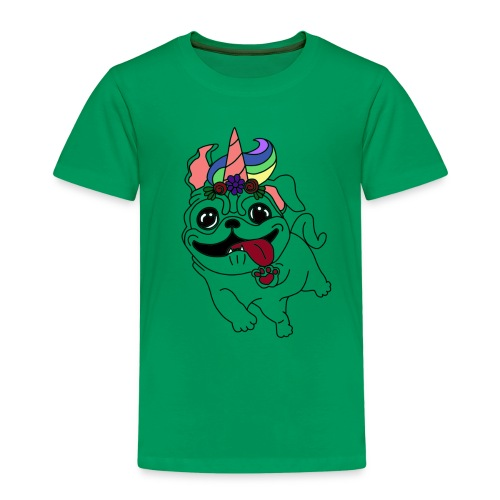 Sweet, sweet Unipug - Kinder Premium T-Shirt