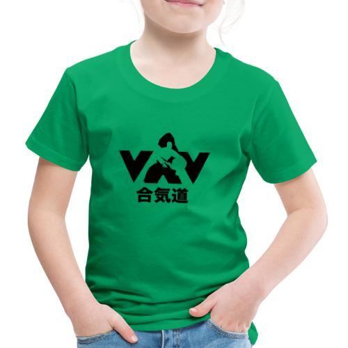 aikido zwart - Kinderen Premium T-shirt