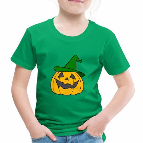 Halloween citrouille - T-shirt Premium Enfant