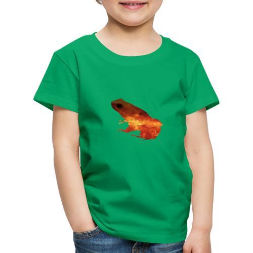 rana a doppia esposizione - Maglietta Premium per bambini