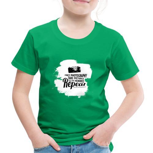 Fotografie daily Slogan - Kinder Premium T-Shirt
