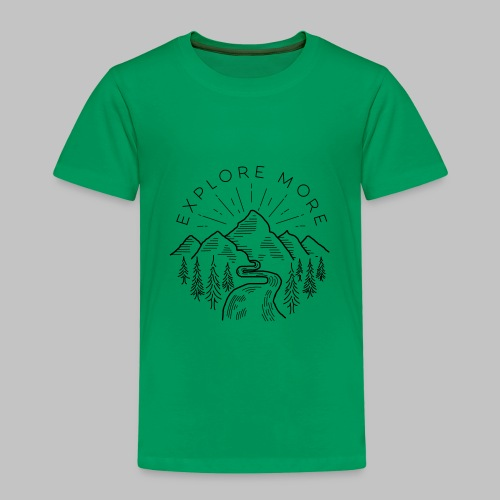 Explore more - Kids' Premium T-Shirt