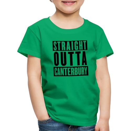 Straight Outta Canterbury - New Zealand Rugby - Kids' Premium T-Shirt