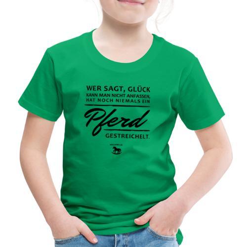 Pferd - Glück - Kinder Premium T-Shirt