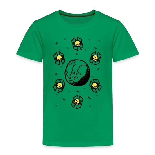 Earth Invaders McKoy - Camiseta premium niño