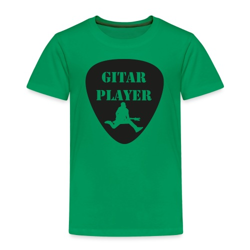 GitarSpringer T-Shirt mit Action Gitarrist - Kinder Premium T-Shirt