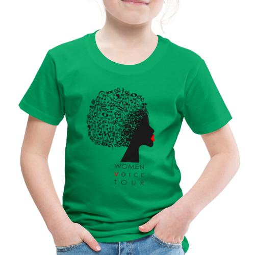 WomenVoiceTour - Kinder Premium T-Shirt