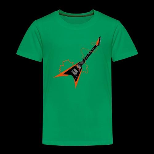 Thunder Electric Guitar - Maglietta Premium per bambini