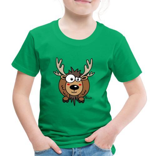 Renne Joyeux Noël Happy Christmas Hiver Drôle - T-shirt Premium Enfant