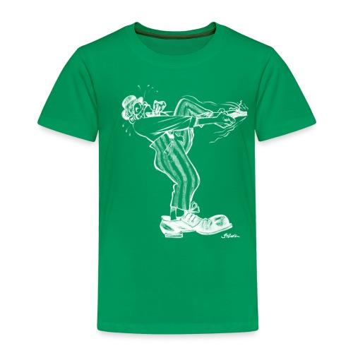 Immer dieser Quirax mit den Schuhen (weiß) - Kinder Premium T-Shirt