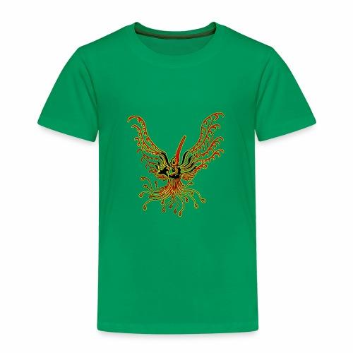 TribalBird redYellow - T-shirt Premium Enfant