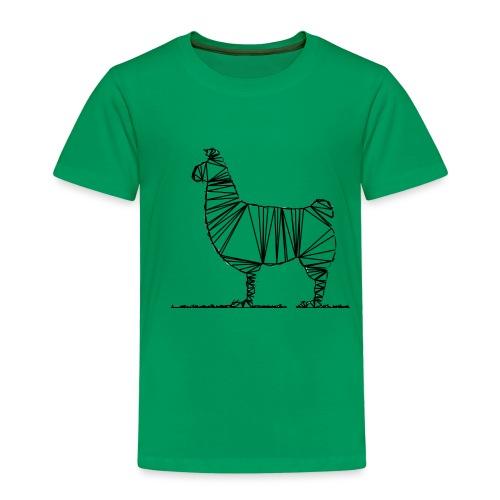 Lama - Kinder Premium T-Shirt