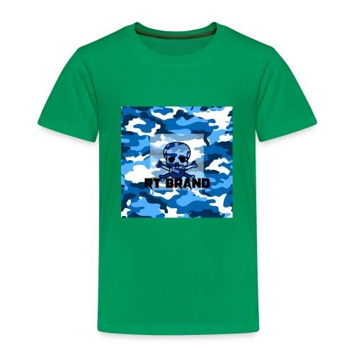 RT BRAND camo - Kinderen Premium T-shirt